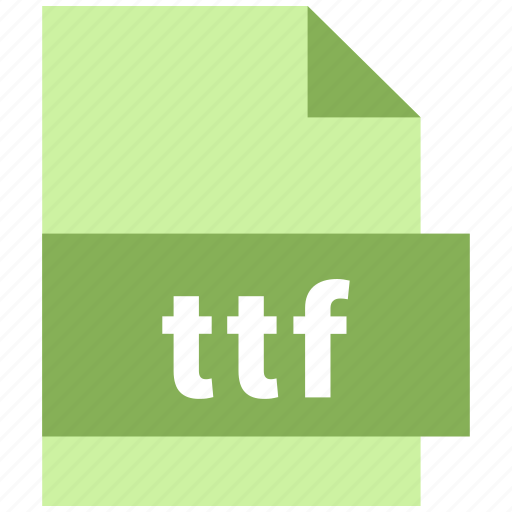 misc file format, ttf icon