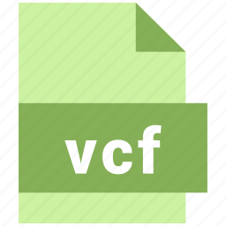 misc file format, vcf icon