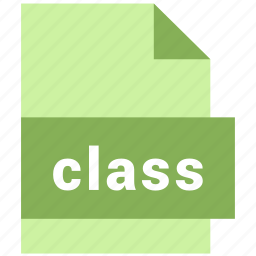class, misc file format icon