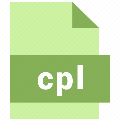 cpl, misc file format icon