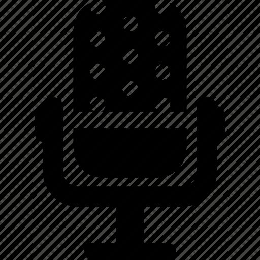 audio, mic, microphone, record, recording icon