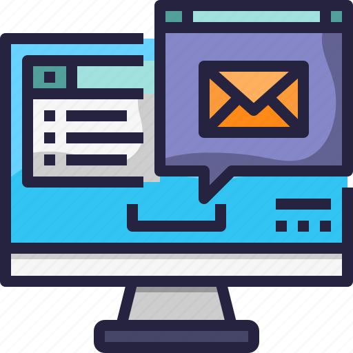 Communication, computer, email, letter, mail, message icon - Download on Iconfinder