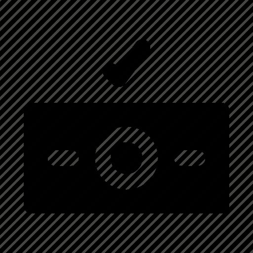 cash, dollar, electronic, money, payed, purchase icon