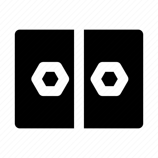cinema, depth, field, object, of, stereograph icon