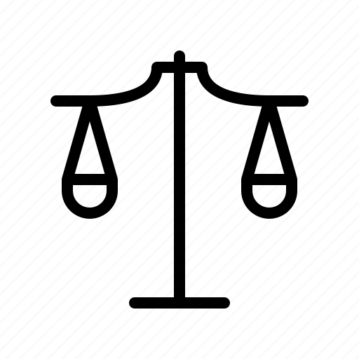 decision, ethic, justice, law, scale icon