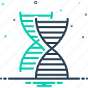 dna spiral, dna test, genetic, helix, heredity, identity, medical icon