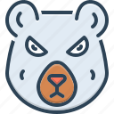 bear, dangerous, grizzly, hunting, omnivores animal, polar bear, predator