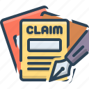 claims, insurance, money, requirement
