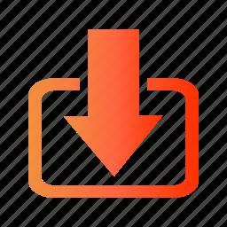 download, downloads, get, list, website_download icon