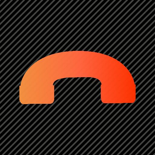 call, drop call, end, end call, phone call icon