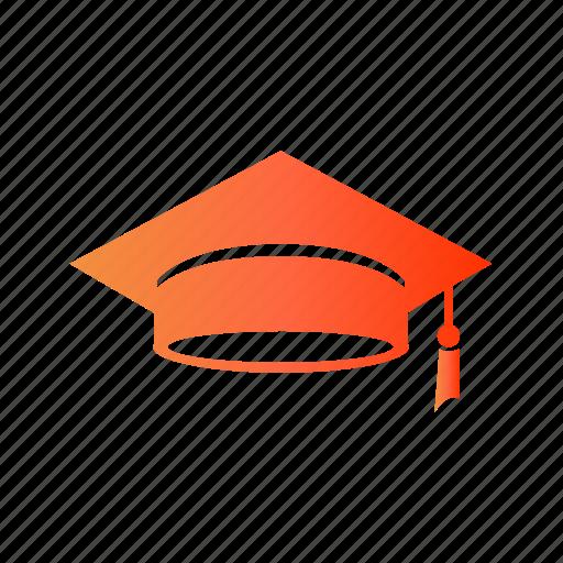 college, final year, graduate, graduated, graduation icon