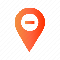 delete, location, maps, remove, remove_location icon