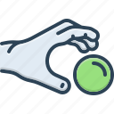 capture, catch hold of, caught, grab, grip, pick, take icon