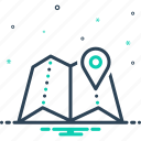 area, field, navigation, realm, region, scope, zone icon