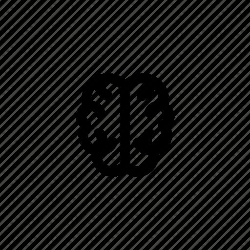 brain, hemisphere, psychology, think icon