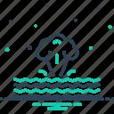 atmospheric, crush, cyclone, danger, destruction, incidence, phenomenon icon