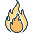 danger, explosion, fiery, fire, flame, hot, warning