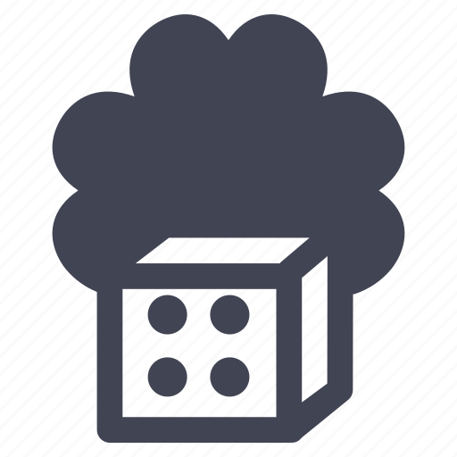 dice, gambling, gaming, lucky, miscellaneous icon