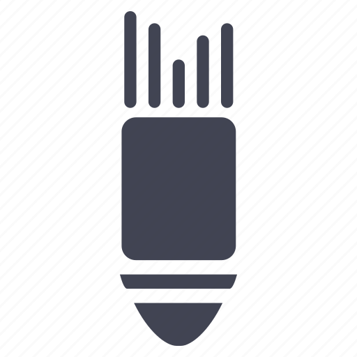 attack, bomb, miscellaneous, missile, rocket icon
