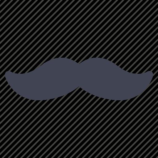 facial, grooming, hair, miscellaneous, moustache icon