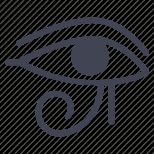 egypt, eye, miscellaneous, pharaoh, pharaonic icon