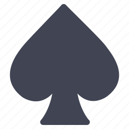 cards, gambling, gaming, miscellaneous, spades icon