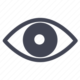 eye, miscellaneous, view, visible, vision icon