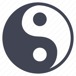 balance, miscellaneous, religion, yang, ying icon