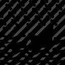 inefficiencies, inefficiency, ship, wave icon