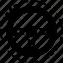 steering, drive, wheel, driver, automobile, control, transport icon