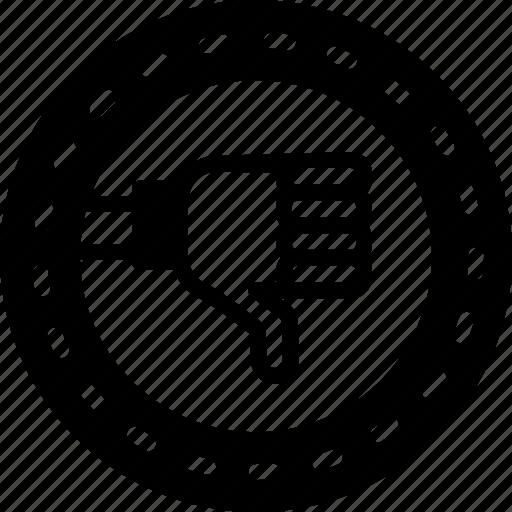 Dislike, fail, failure, fiasco, hoodoo, setback icon - Download on Iconfinder