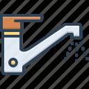 tap, drip, spigot, regurgitate, faucet, water, pour out