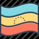venezuela, flag, country, freedom, government, contour, patriotic