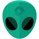alien, astronomy, life, miscellaneous, space icon