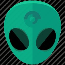 alien, astronomy, life, miscellaneous, space icon
