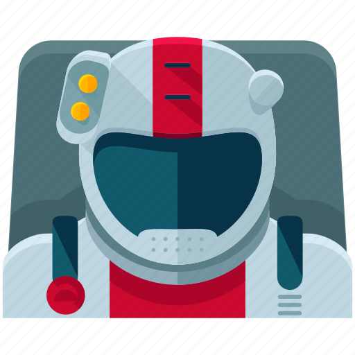 astronaut, astronomy, miscellaneous, space, spaceman icon