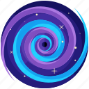 blackhole, miscellaneous, space, star, swirl icon