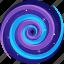 blackhole, miscellaneous, space, star, swirl icon
