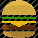 hamburger, burger, fast, food, junk, miscellaneous