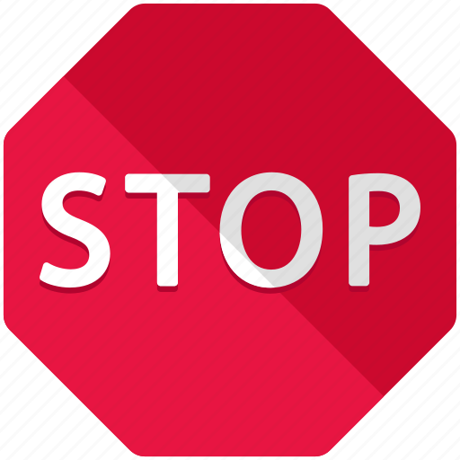 miscellaneous, road, sign, stop, street, warning icon
