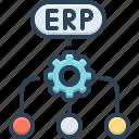 erp, software, flow, enterprise, inventory, system, resource