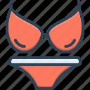 lingerie, underwear, gymnastics, swimwear, clothes, bikini
