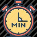min, accurate, chronometer, clock, countdown, minute