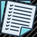 tasks, assignment, project, work, homework, education, checklist