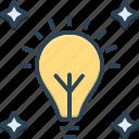 glow, shine, light, bulb, fluorescent, electricity, power