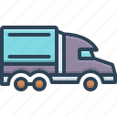 semi, pickup, lorry, wagon, van, delivery, freight
