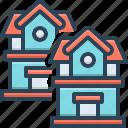 houses, mansion, habitation, residence, apartment, cottage, real estate