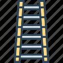 ladder, stairs, forward, forth, onward, progress, tread of steps
