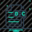 doc, document, file, folder, paper, fileformat