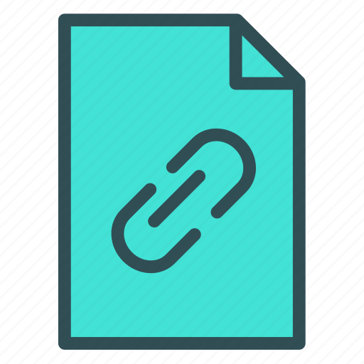 attach, link, src, url icon